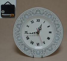 """Wedgwood """"Dolphins"""" 10.75"""" Wall Hanging Plate CLOCK"""