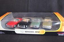 New Ray Mercedes-Benz set of 4 models 1:43 280 SL, 300 SL, 350 SL, 600 SL (JS)