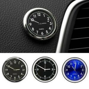 Mini Pocket Quartz Analog Watch Stick-On Clock For Car Boat Motorcycle Bike