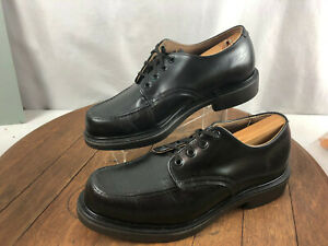 Vintage Redwing Postman 106 Black Leather Oxford Sz 7.5D
