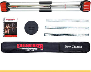 Bullworker Bow Classic 3 Springs Home Workout Gym Exercise Equipment Isometric
