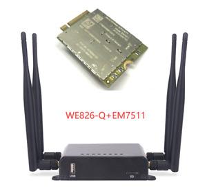 WE826-Q embedded in EM7511 Cat12-600Mbps Wireless Router|EM7511|EM7565 | WE826