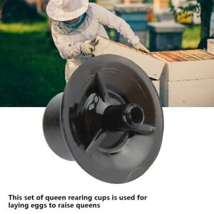 50pcs Queen Bee Cell Cup Set Base for Beekeeping Queen Cell Cups Beekeeping