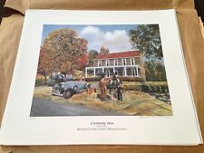 Century Inn Scenery Hill PA Prints By Robert T. Horvath 1995-signed! Circa 1932
