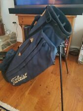 Titleist Lightweight Stand Carry golf bag w/ IZZO Strap
