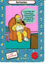 Simpsons Serie 2 Película Cardz Promo Cel tarjeta P1