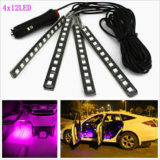 Car SUV Footwell Floor LED Neon Lamp Interior Decorative Atmosphere Light Strips