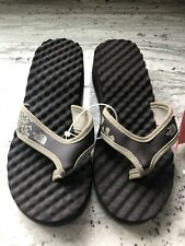 NEW The North Face Base Camp Wedge Flip Flop Sandals - Women's Brown 8