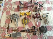 Lot Star Wars Transformers vehicles clone wars galactic heroes rots parts