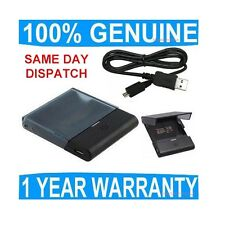 GENUINE Blackberry BATTERY CHARGER 9530 STORM Mobile cell phone external desktop