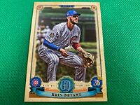 ⭐️👀 2019 Topps Gypsy Queen Jackie Robinson Day Variations #100 Kris Bryant Cubs