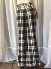 Vintage Bell Bottom Pants 70s Plaid Or 20s Style As Well
