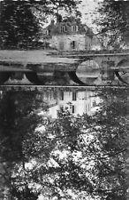 Carte AUVERS SAINT GEORGES Château de Gravelles L'effet miroir