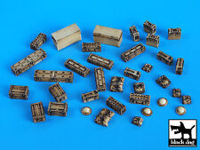 Blackdog Models 1/35 BRITISH EQUIPMENT ACCESSORIES Resin Set