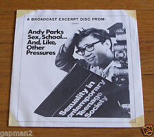 "Andy Parks 1967 Capitol 7"" EP 33rpm Sex, School...And, Like, Other Pressures"