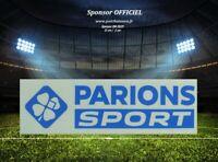France flocage officiel Parions Sport bleu monblason maillot home OM 2020//2021
