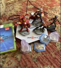 Xbox 360 Disney Infinity 2.0 With Game Pieces