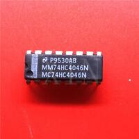 (10PCS) MM74HC4046N IC LOCK LOOP PHASE CMOS 16-DIP