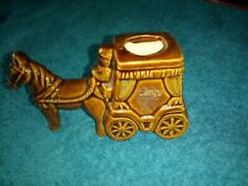 Small Horse and carriage (porcelain)