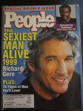 People Magazine Richard Gere Sexiest Man Alive Walter Payton Sweetness 1999