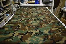 "2NDS FABRIC 4 YARDS WOODLAND 1000D NYLON CORDURA 59"" WIDE OUTDOOR FABRIC"