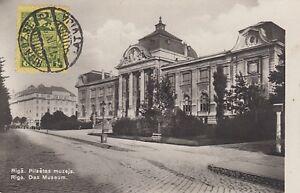 D.  Ansichtskarte Lettland   Riga - Museum  1929
