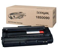 TONER LASER LEXMARK POUR X215 3200 pages + 50% OFFERT / 18s0090 noir