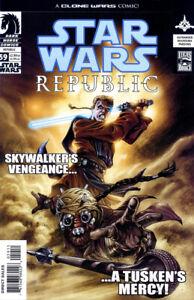 STAR WARS REPUBLIC #59 CLONE WARS SKYWALKER COVER Dark Horse 2003 NM Unread