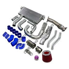 Intercooler Turbo Intake Radiator Piping Downpipe For SC300 2JZ-GTE 2JZGTE