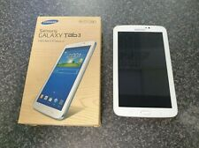 "(Pa2) Samsung Galaxy Tab 3 7"" 8Gb Boxed - Wont Charge - SPARES AND REPAIRS ONLY"