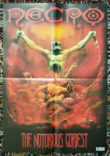NECRO - The Notorious Goriest Poster Horrorcore Rap Metal Hip Hop NEW