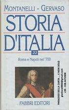 STORIA D'ITALIA vol.22 (Montanelli, Gervaso - Fabbri editori)