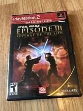 Star Wars: Episode III: Revenge of the Sith (Sony PlayStation 2) Case Only VC3