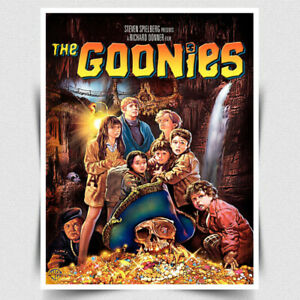 METAL SIGN WALL PLAQUE THE GOONIES Movie Film ad poster man cave cinema bar room