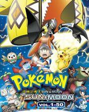 DVD Japan POKEMON SUN & MOON Complete Series (1-50 End) English Subtitle