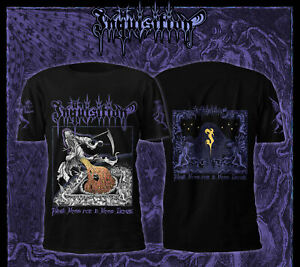INQUISITION - Black Mass For A Mass Grave -- Official T-shirt