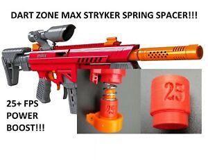 Spring Spacer For Dart Zone Max Stryker Pro Blaster 25+FPS Power Boost! Dart Gun