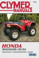 Cylmer Repair Shop Manual Honda TRX420 Rancher 2007-2014