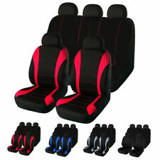 Universal Auto Seat Covers 5 Seater Front Rear Protector For Car Truck SUV Van