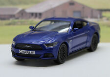 PERSONALISED PLATE Gift Blue Ford Mustang GT Boys Toy Dad Car Birthday Present