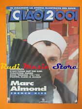 rivista CIAO 2001*12/1990 POSTER Clash Aerosmith Marc Almond Throwing Muses Nocd