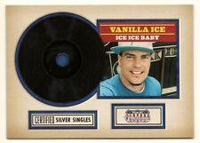 Vanilla Ice. Ice Ice Baby 1990. Certified Silver Single. In Protective Sleeve.