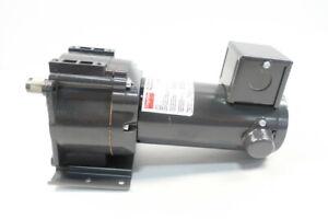 Dayton 4Z129A Gearmotor 54rpm 1/8hp 90v-dc