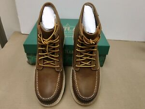 Eastland 7241-07D Men's Lumber Up Moc Toe Boots in Peanut