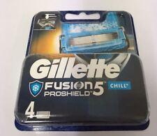 Gillette Fusion5 ProShield Chill Blau / 4x Rasierklingen OVP&NEU