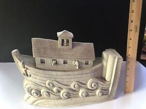 Carruth Studios Washington National Cathedral Noah's Ark Stone Sculpture