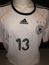 Signed Retro Michael Ballack Germany Home Shirt