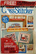 Cross Stitcher Best of British Celebration Flag Kit July 2016 FREE SHIPPING JB