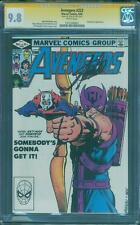 Avengers 223 CGC 9.8 SS Stan Lee Sign Ant Man Civil War 3 Top 1 Movie scene Key