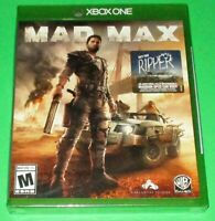 """Mad Max w/ """"The Ripper"""" DLC Microsoft Xbox One Factory Sealed! *Free Ship!"""